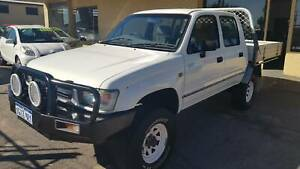 1999 TOYOTA HILUX DUAL CAB UTE 3.0DT 4X4 Midland Swan Area Preview