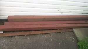 Square tubing and I beams for sale