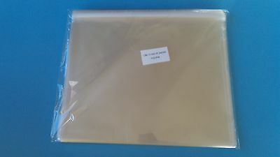 "100ct  10 1/4"" x 8 1/8 CLEAR  SELF SEALING CELLO SLEEVES BAGS 8x10 photo"