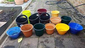 14 x Garden Plant Pots for sale Glenfield Campbelltown Area Preview