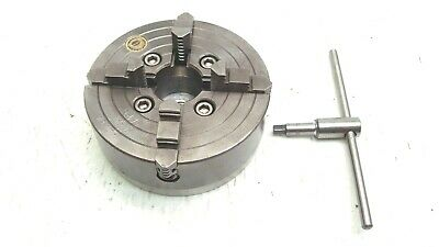 Bison 6 Inch 4 Jaw Chuck 10k 10 10 12 Craftsman 9 Southbend Metal Lathe