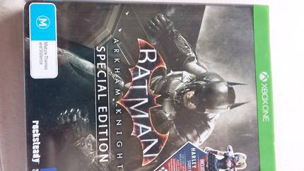 Batman Arkham Knight x-box game