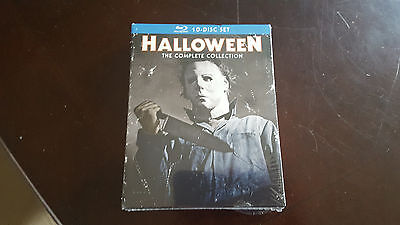 Halloween: The Complete Collection (Blu-ray  , 10-Disc Set) BRAND NEW SEALED USA