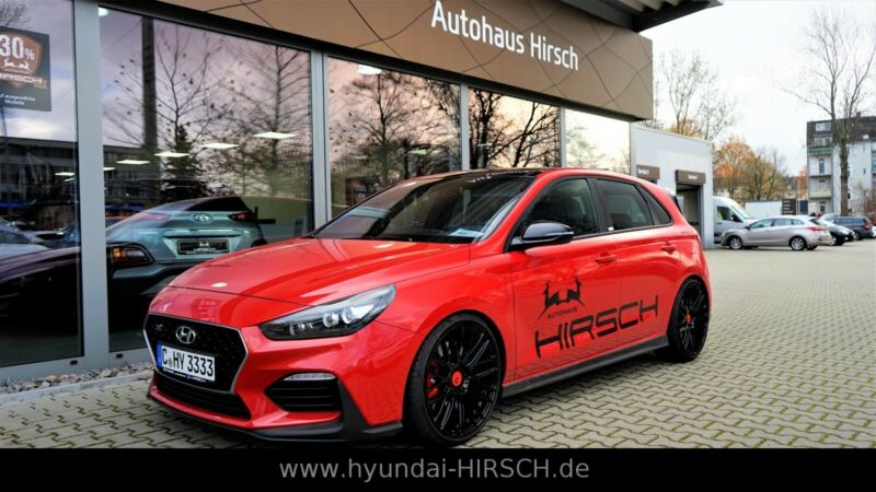 Hyundai i30 N Performance 275PS Navi SD MBD H&R Federn