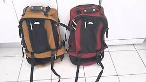X2 travel back packs $75 each Kincumber Gosford Area Preview