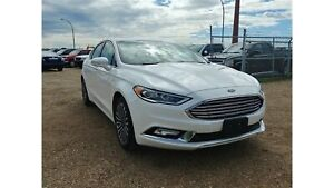 2017 Ford Fusion SE 2.0L Turbo AWD Leather Navi Bluetooth Remote