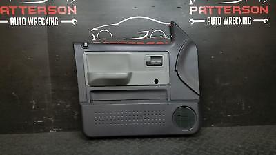 2011 DODGE DAKOTA FRONT DRIVER LEFT MANUAL INSIDE INTERIOR DOOR TRIM PANEL