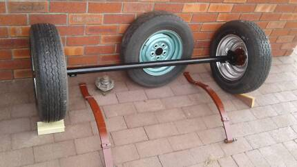 Trailer Parts - Axle, Wheels and Springs