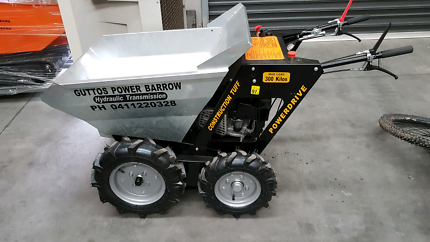 Power barrow electric start 4x4