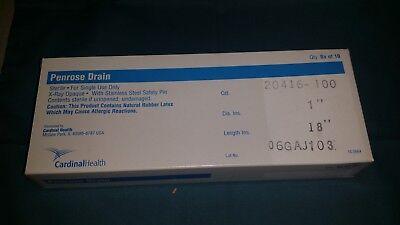 2 Boxes Of 100 Cardinal Health 20416-100 Penrose Drain Medical Surgical Nurse
