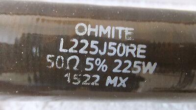 Ohmite Power Resistor L225j50re 50 Ohm 225w 5