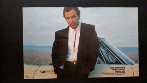 "BRUCE SPRINGSTEEN  ""TUNNEL OF LOVE ""  1987  RARE ORIGINAL PRINT PROMO POSTER AD"