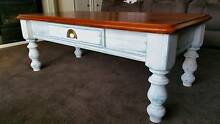 Shabby Chic / Coastal Decor - Upcycled solid pine coffee table Morphett Vale Morphett Vale Area Preview
