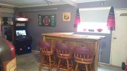 Timber Bar with Free Stools