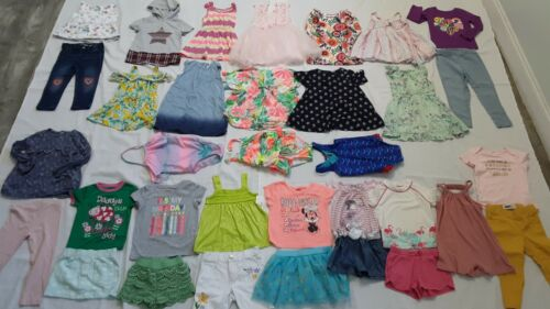 Girls Huge lot/44 size 2-3t Cothing outfits Spring Summer Casual,PLACE Carter