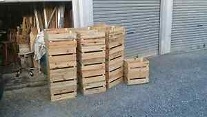 Wooden crates  - $45.00 Burleigh Heads Gold Coast South Preview