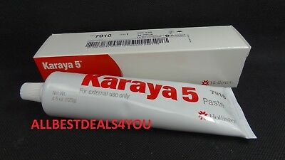 Hollister Karaya 5 Skin Barrier Paste 4.5 Oz Exp. 2022-06