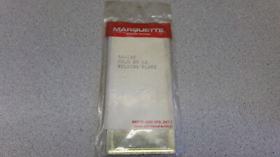 New Marquette Gold Sh 10 Welding Plate Free Shipping