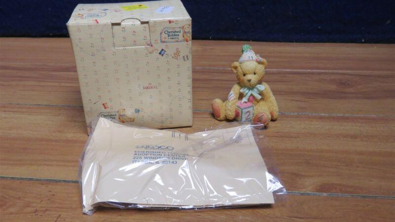 ENESCO CHERISHED TEDDIES TWO SWEET TWO BEAR 596187