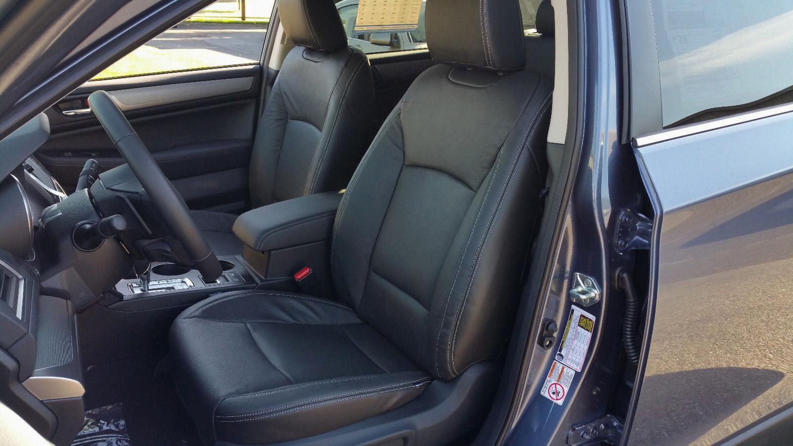 Katzkin Black Leather Int Seat Cvr Fit 2015 2019 Subaru