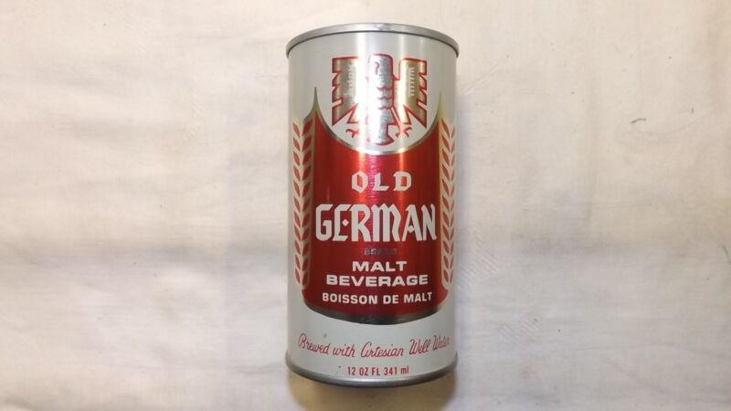 Vintage Old German Malt Beverage Beer Can Steel  k