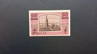 Rupertus 52.12a Notgeldschein Stadt Freiburg i.Br. 50 Pfg 30.3.1920