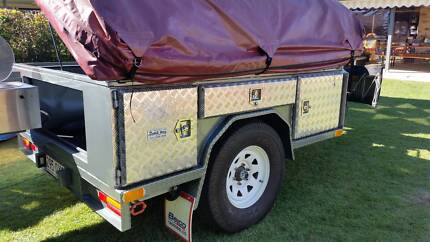 Heavy Duty Offroad Camper Trailer - Custom Made