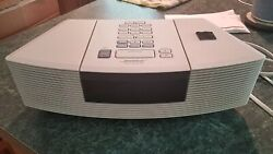 Bose Wave AM/FM Radio CD Player AWRC1P Alarm Clock Excellent Working Condition