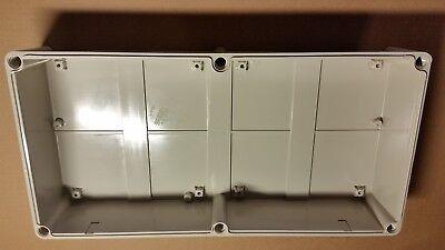 22 X 11 X 5 Nema 4x Outdoor Nonmetallic Enclosure Gray Screw Cover Ds-pcg-5628