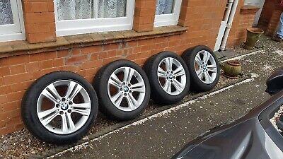 "Genuine BMW F30 F31 F32 17"" Alloy Wheels & Tyres Style 392 Sport"