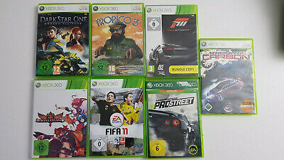 7x Xbox 360 Spielepaket bis USK 16 - Sammlung -