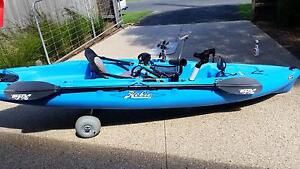 Blue Hobie Kayak Outback 2012 in great condition Balwyn Boroondara Area Preview