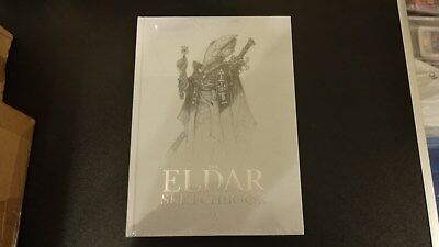 The Eldar sketchbook new and sealed