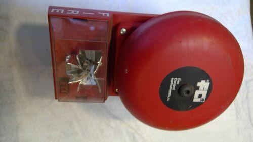 FIRE CONTROL INSTRUMENTS SIGNALING DEVICE Model VA 4 W BELL/STROBE