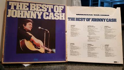 Johnny Cash LP Box Set