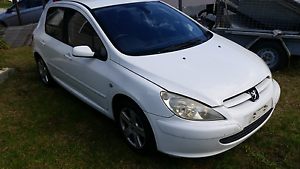 307 peugeot manual 2002 Primbee Wollongong Area Preview