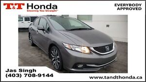2013 Honda Civic Touring* No Accidents, Navi, Leather, Rear Came