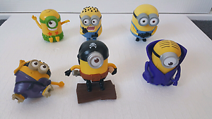 Minions happy meal toys Jacana Hume Area Preview