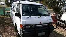 Mitsubishi L400 longwheel minivan camper Cardigan Village Ballarat City Preview