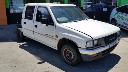 1993 Holden Rodeo 2WD Duel Cab White Auto,  NOW DISMANTLING