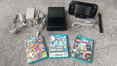 Nintendo Wii U Mario & Luigi Premium Pack Handheld Console Bundle 32GB