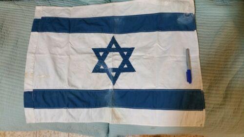 israeli vintage flag real flag made in israel cotton