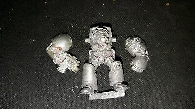 Warhammer 40k - Space Marine Terminator Bolter/Power Fist **Metal** OOP