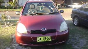 2001 Toyota Echo Hatchback Nelson Bay Port Stephens Area Preview