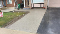 Exposed and Plain Concrete for your walkway, driveway, patio