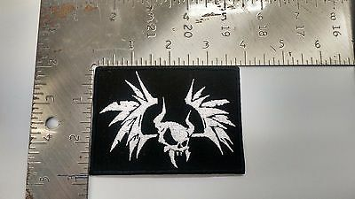 Metallica Embroidered patch NEW bat skull small