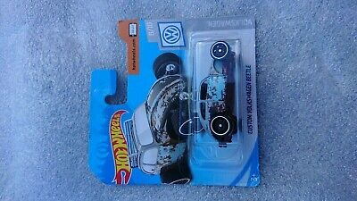 VW Beetle Custom Rat Rod Hot Wheels Brand New on Short Card 2019 8/10 Die Cast