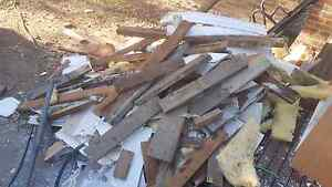 Free fire wood - Hardwood timber from old house Glenroy Moreland Area Preview