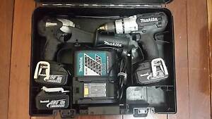 Makita Cordless Power Tools PLUS 2 batteries, charger, Carry Case Wilson Canning Area Preview