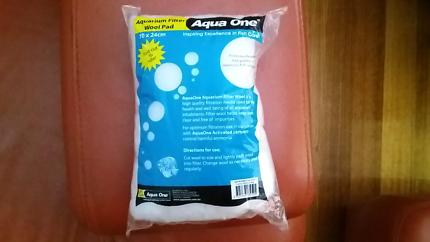 Aqua One brand new filter wool